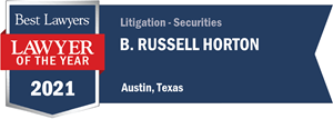 Best Lawyers LOTY 2021 - Horton